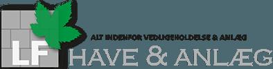 Haveservice lolland, LF have og anlæg logo